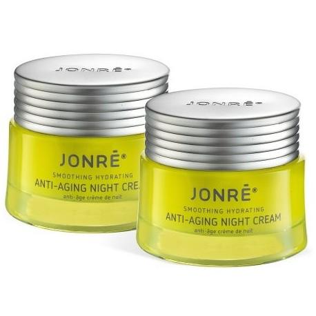 Jonre Lucha contra el envejecimiento crema de noche facial piel seca Crema hidratante anti arrugas 17 oz 2PK