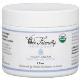 USDA Certified Organic Noche Crema Por BeeFriendly Colección sensible anti arrugas anti envejecimiento hidratante y profundo e
