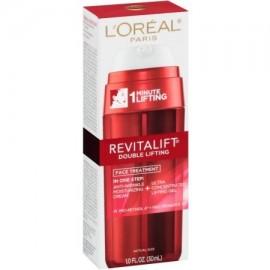 Paquete de 2 - L'Oreal Revitalift Doble Lifting Tratamiento facial crema anti arrugas y de elevación del gel de 1 oz