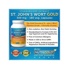 St Johns Wort Extract 300mg- 180 caps