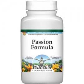 Passion fórmula en polvo - azufaifa y Tribulus terrestris (4 oz ZIN- 514028)