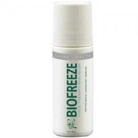 BioFreeze incoloro 3 oz roll-on con ilex