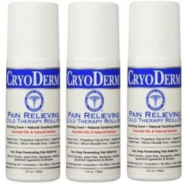 CRYODERM 3 Oz. Roll-On 3-PACK