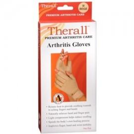 Therall Guantes de la artritis M Beige 1 Par