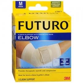 Futuro Soporte codo con almohadillas de presión media - Cada