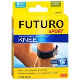 Futuro de la correa de la rodilla deportivo ajustable 1 ea
