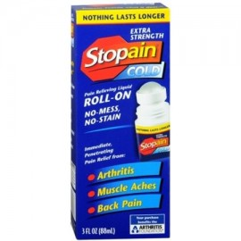 Stopain Extra Strength Roll-On 3 onzas (paquete de 3)
