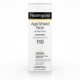 Neutrogena Edad protector facial sin aceite protector solar de amplio espectro Spf 110 3 Fl. Onz.