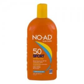 No-Ad Deporte loción de protección solar SPF 50 160 onzas líquidas