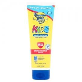 Banana Boat Niños loción de protección solar UVA - UVB de amplio espectro SPF 50 8 fl oz