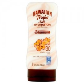 Hawaiian Tropic Seda Hidratación loción de protección solar de amplio espectro SPF 30 6 fl oz