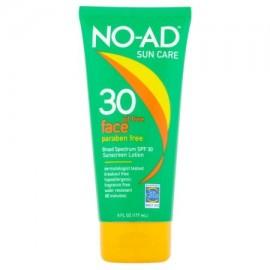 No-Ad Aceite de Protección Solar libre de la cara loción de protección solar de amplio espectro SPF 30 6 fl oz
