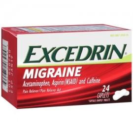 Excedrin migraña analgésico cápsulas 24 Conde