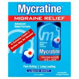 Mycratine Shot migraña alivio de líquido 2 fl oz
