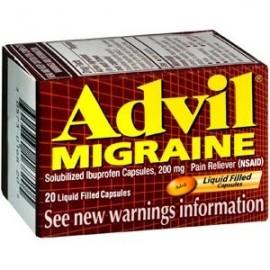 JAQUECA LIQUI-GEL Cápsulas 20 cápsulas migraña cápsula Por Advil