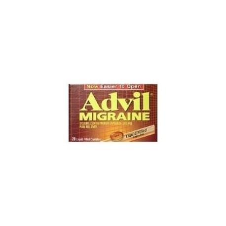 Advil 20CT migraña Liquigel