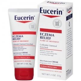 Eucerin Eczema Relief crisis asmática Tratamiento 2 oz