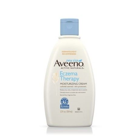 Aveeno Eczema Terapia Crema hidratante alivia la piel irritada 12 Oz
