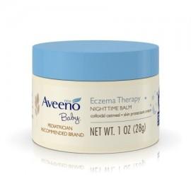 Aveeno Baby Eczema Terapia nocturna Bálsamo 1 onza