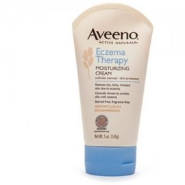 Aveeno activo Naturals Eczema Terapia Crema Hidratante 5 oz (Pack de 2)