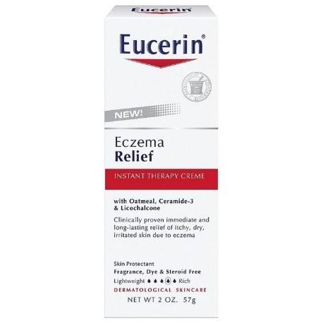 Eucerin Eczema alivio instantáneo Terapia Crema 2 oz (Pack de 2)