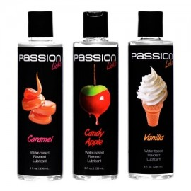 Passion Licks 3 Flavor Lube PACK- dulces