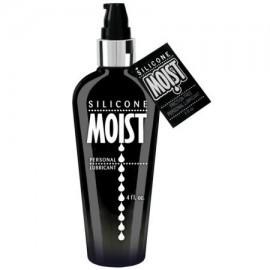 Húmeda lubricante de silicona - botella de la bomba 4 oz