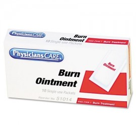 PhysiciansCare de primeros auxilios primeros auxilios Sólo kit de recarga Burn paquetes de crema 12 - Box