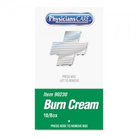 PhysiciansCare por primeros auxilios Sólo XPRESS primeros auxilios kit de recarga Burn Crema 10 - caja