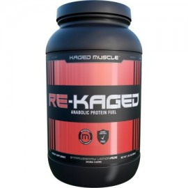 Kaged Muscle Re-Kaged - 20 Porciones limonada de fresa (proteína de suero)