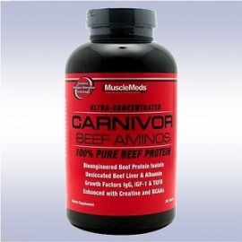 MUSCLEMEDS CARNIVOR BEEF AMINOS 300 CAPSULAS