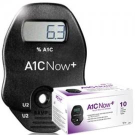 Ahora prueba A1C Kit de A1C Control de la diabetes muestra de sangre 10 pruebas