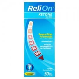 ReliOn tiras de prueba de cetona 50 Ct