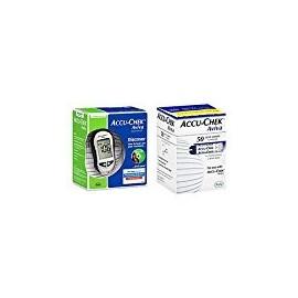 Accu-Chek Aviva Diabetes Combo Monitoring Kit (Kit Medidor y prueba Aviva Tiras 50ct.)