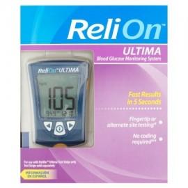 ReliOn Ultima Glucosa en la Sangre Sistema de Monitoreo