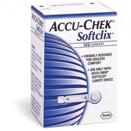 ACCU-CHEK Softclix Lancetas 100 ct