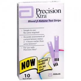 Precision Xtra Blood B-cetónicos tiras de prueba 10 Ct