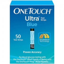 OneTouch tiras reactivas de glucosa Ultra Blue Blood 50 Ct