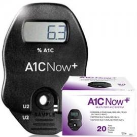A1CNow hemoglobina glucosilada - HbA1c - hemoglobina A1C del sistema Multi-prueba de 20 pruebas