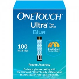 OneTouch tiras reactivas de glucosa Ultra Blue Blood 100 Ct