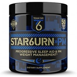 T6 STAR6URN PM FAT BURNING SLEEP AID 50 CAPSULAS