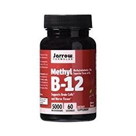 JARROW FORMULAS METHYL B12 SUPORTE NEUROCEREBRAL 60 CAPSULAS