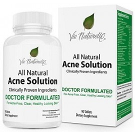 ALL NATURAL ACNE SOLUTION 90 CAPSULAS