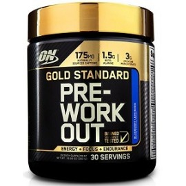 GOLD STANDARD PRE WORKOUT CON CREATINA 300 GRAMOS