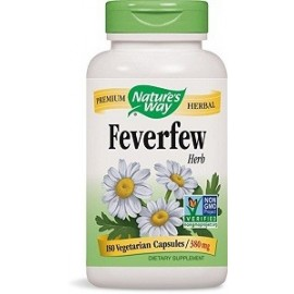 NATURES WAY FEVERFEW REMEDIO NATURAL PARA LAS MIGRAÑAS 180 CAPSULAS