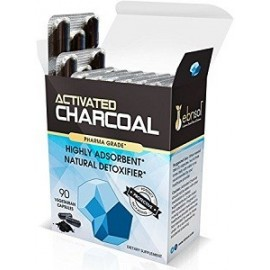 ACTIVATED CHARCOAL SUPPLEMENT DESINTOXICANTE NATURAL 90 CAPSULAS