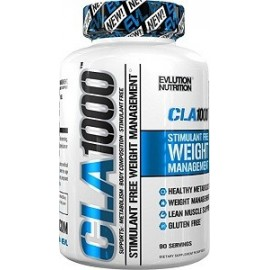EVLUTION NUTRITION CLA 1000 WEIGHT LOSS 90 CAPSULAS