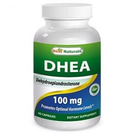 BEST NATURALS DHEA SOPORTE OPTIMO DEL EQUILIBRIO HORMONAL 100 MG 60 CAPS