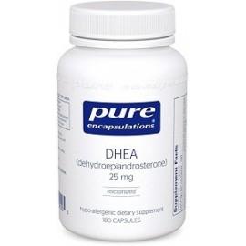 PURE ENCAPSULATIONS DHEA MAXIMO SOPORTE HORMONAL 25 MG 180 CAPS