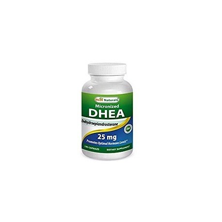 MICRONIZED DHEA BY BEST NATURALS SOPORTE HORMONAL 25 MG 180 CAPS